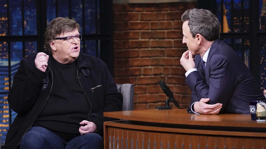 LATE NIGHT WITH SETH MEYERS -- Episode 940 Michael Moore - Publicity-H 2020