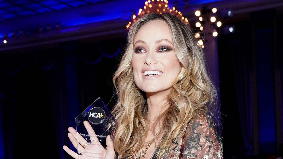 "Olivia Wilde wins Best Comedy or Musical for ""Booksmart"" - Getty - H 2020"