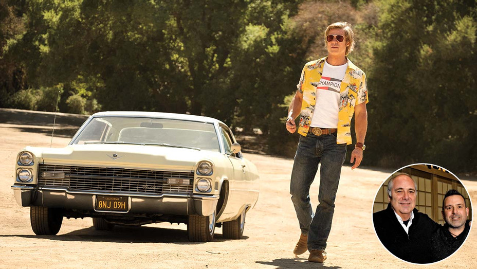 Once upon a time in Hollywood -  Michael and Christian Minkler- Publicity - Inset - H 2020