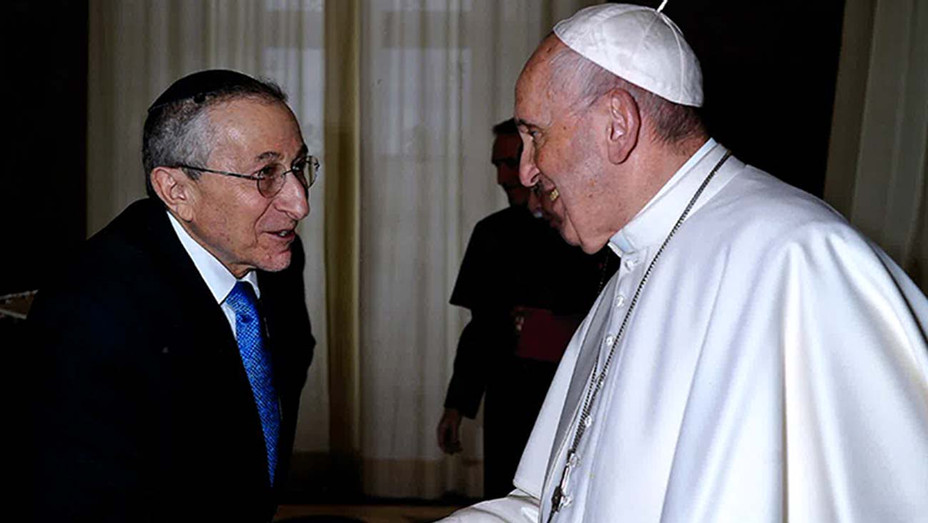Pope Francis Meeting with Rabbi Hier - Publicity - H 2020