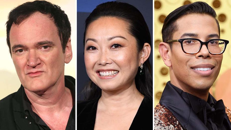 Quentin Tarantino, Lulu Wang & Steven Canals_Split - Getty - H 2020