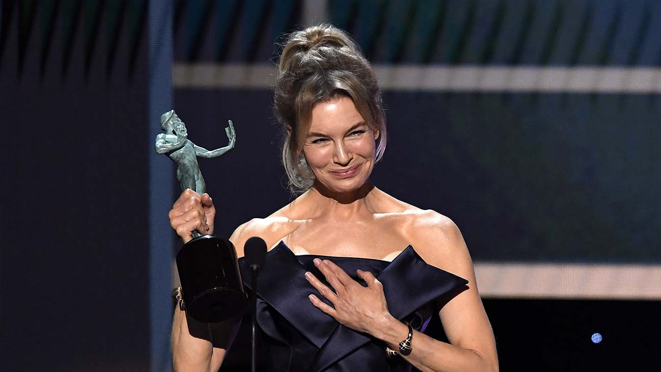 Renée Zellweger Wins SAG Award for 'Judy' | SAG 2020