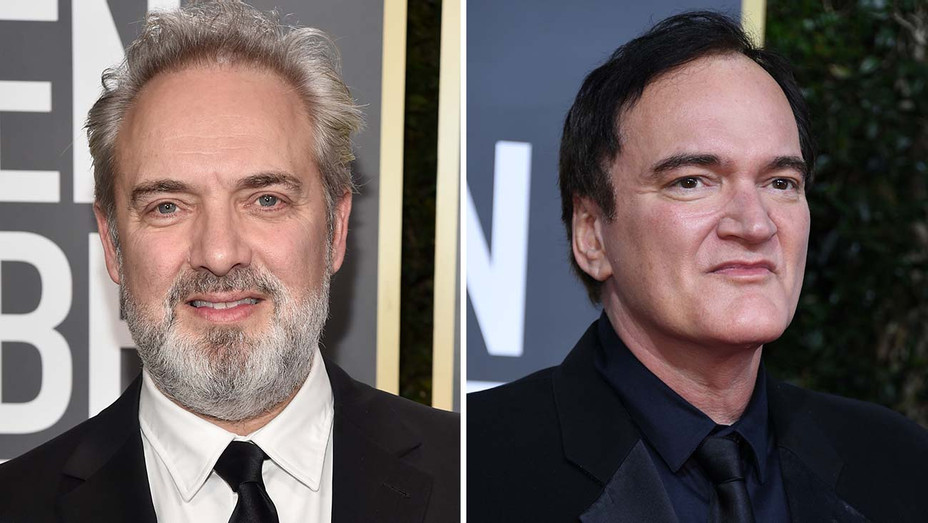 Sam Mendes Quentin Tarantino  Split - Getty - H 2020