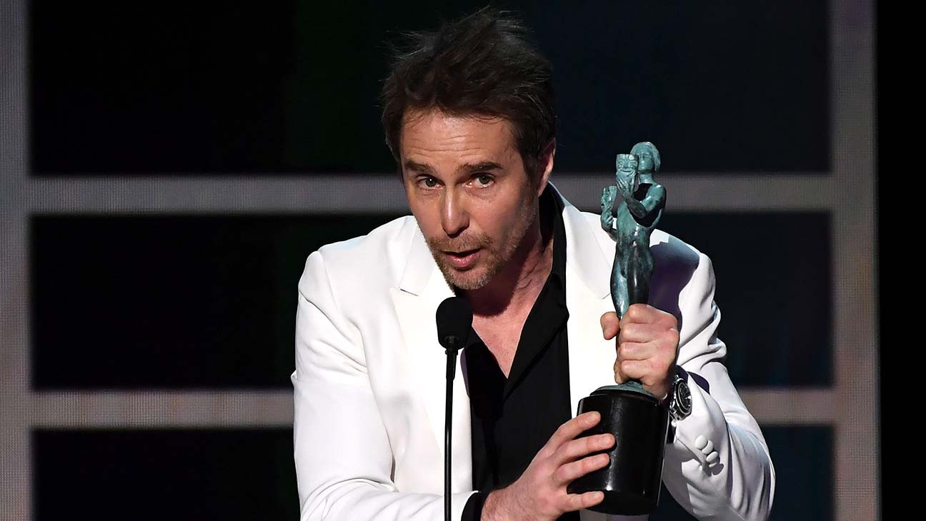 Sam Rockwell Wins SAG Award for 'Fosse/Verdon' | SAG 2020