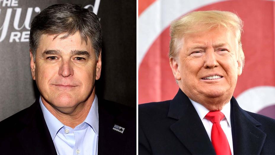 Sean Hannity - donald Trump - Getty - Split - H 2020