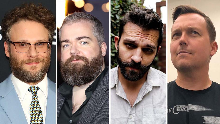 Seth Rogen -David Sandberg  - Mattson Tomlin -  Rick Remender -Getty - Publicity - Split - H 2020