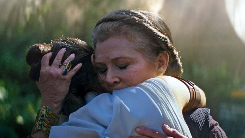 STAR WARS EPISDOE IX  THE RISE OF SKYWALKER - Carrie Fisher and Daisy Ridley - Publicity-H 2019