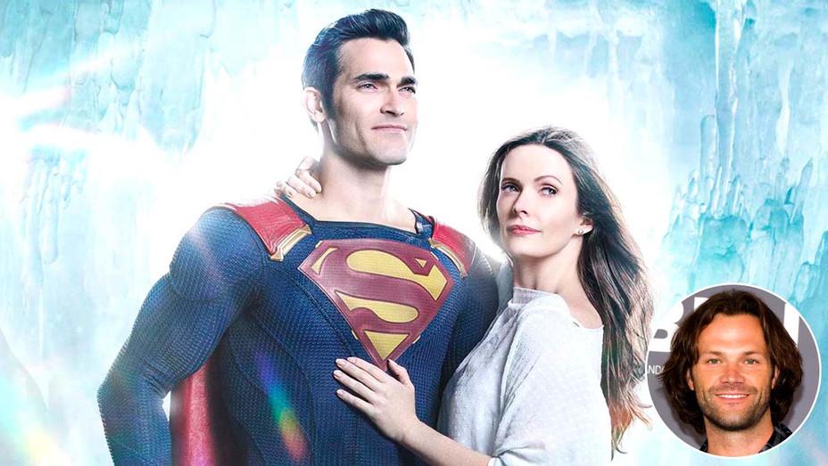 Supergirl - Superman-Lois_FirstlookTyler Hoechlin -Bitsie Tulloch  - Jared Padalecki  inset - Publicity - Getty - H 2020