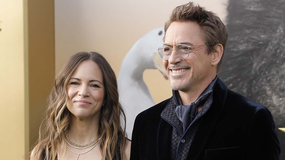 Susan Downey and Robert Downey Jr. - Getty - H 2020