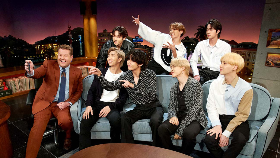The Late Late Show with James Corden - BTS- Publicity still - H 2020