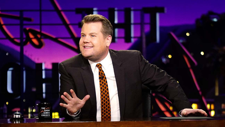 The Late Late Show with James Corden - host - alone - PUblicity still - H 2020