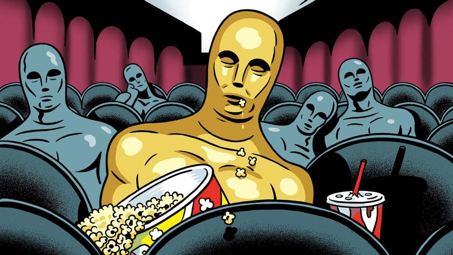 Kareem Abdul-Jabbar  This Year's Oscar Nominees -  Illustration by Kyle Hilton - H 2020