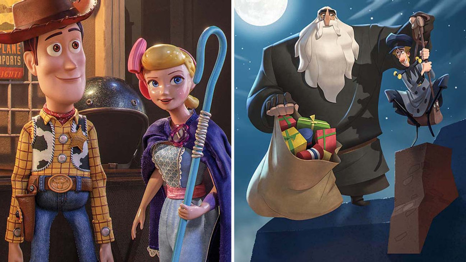 Animated feature - Toy Story 4 and Klaus -Split- Publicity -H 2020