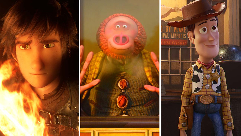 How to Train Your Dragon: Hidden World, Missing Link and Toy Story 4_Split - Publicity - H 2020