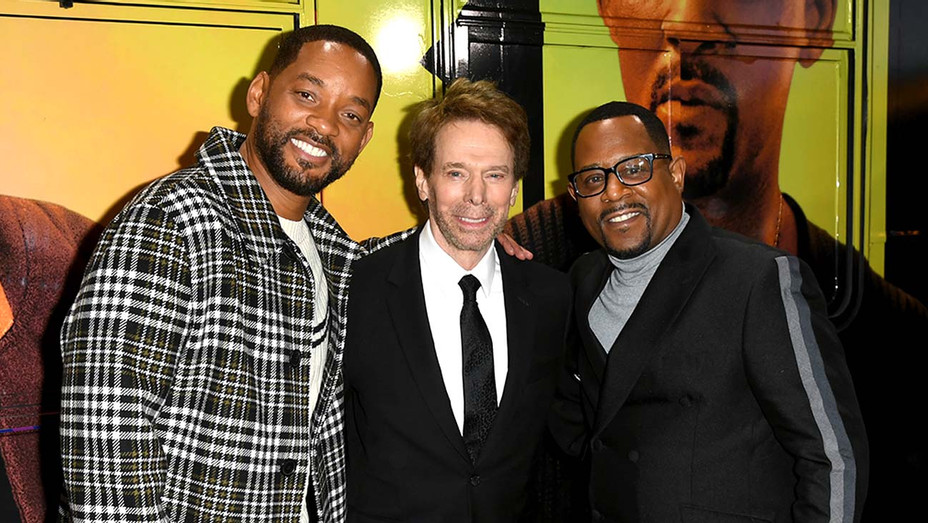 Will Smith, Jerry Bruckheimer, and Martin Lawrence - Bad Boys for Life premiere-Getty - H 2020