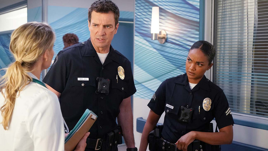 "THE ROOKIE - ""Day of Death"" -NATHAN FILLION, MEKIA COX-FEB. 23- Publicioty-H 2020"
