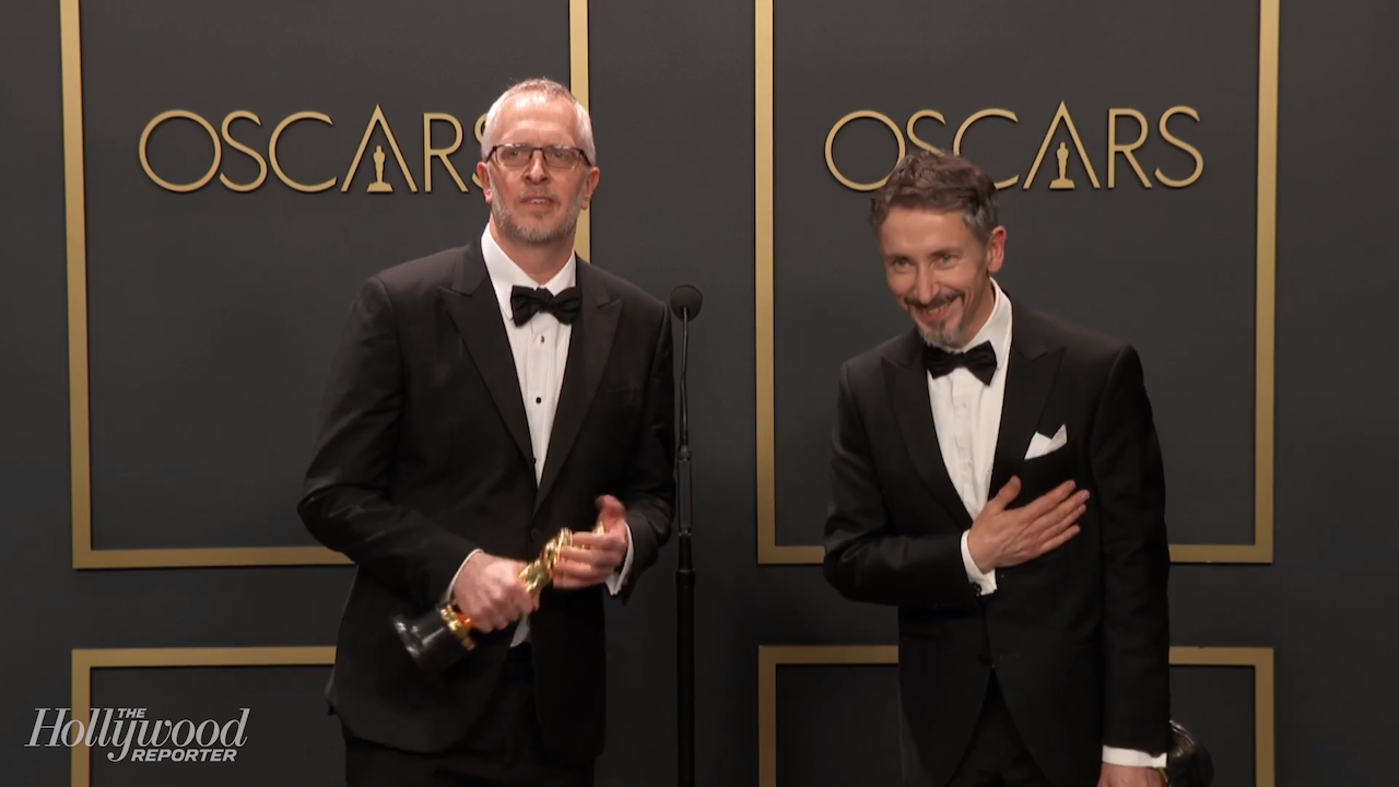 Mark Taylor and Stuart Wilson Discuss Best Sound Mixing Win For '1917' Backstage at 2020 Oscars