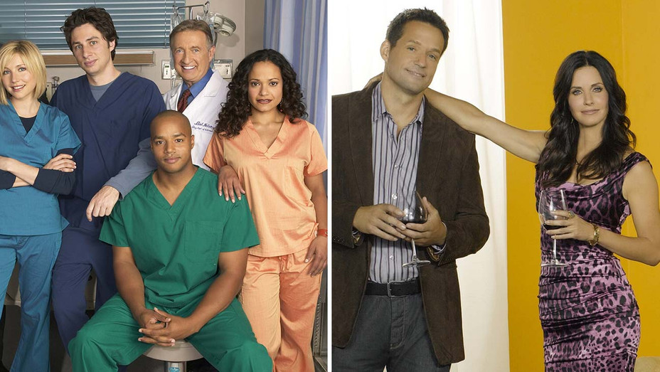 Scrubs and Cougar Town- Split Photofest-H 2020