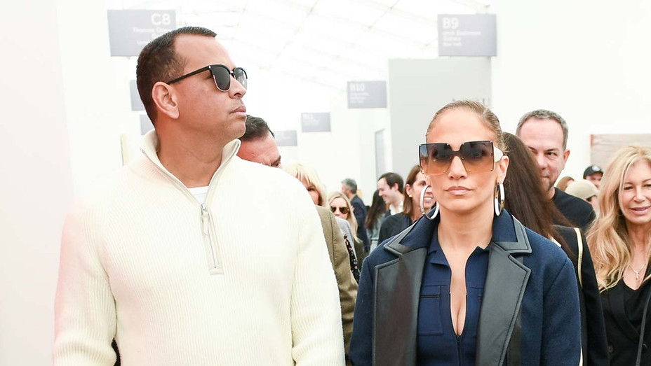 ONE TIME USE_Alex Rodriguez, Jennifer Lopez Frieze - Publicity - H 2020