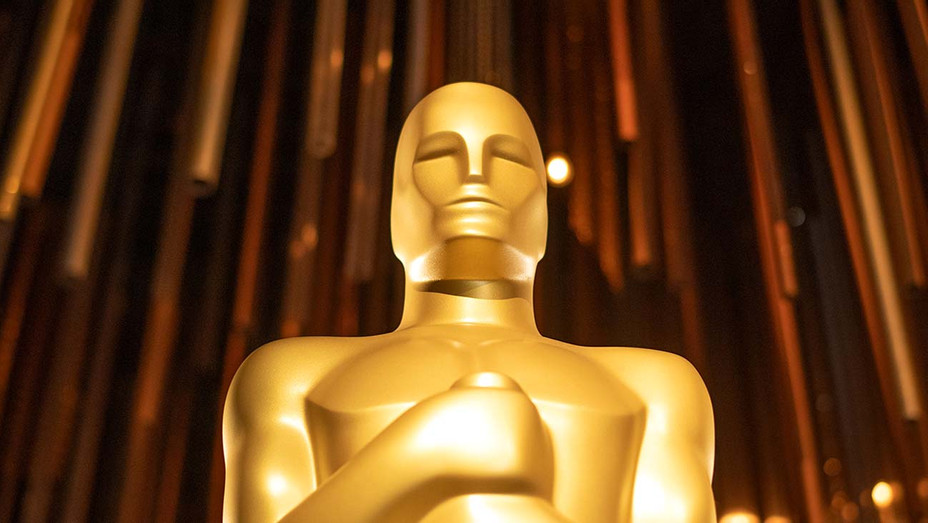 An Oscar Statue is displayed at the 92nd Annual Academy Awards Governors Ball press preview at The Ray Dolby Ballroom at Hollywood & Highland Center, in Hollywood, California, on January 31, 2020 - Getty - H 2020