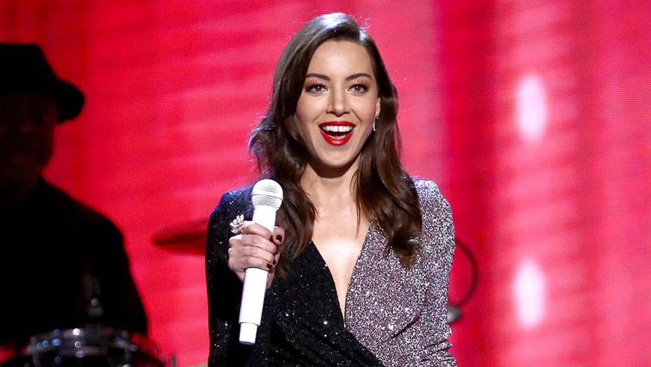Aubrey Plaza onstage at the 2020 Film Independent Spirit Awards - 1- Getty - H 2020