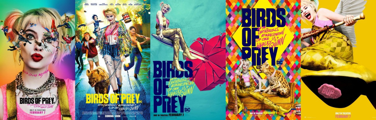 Birds Of Prey Marketing Strikes More Colorful Chord Than Suicide Squad Hollywood Reporter