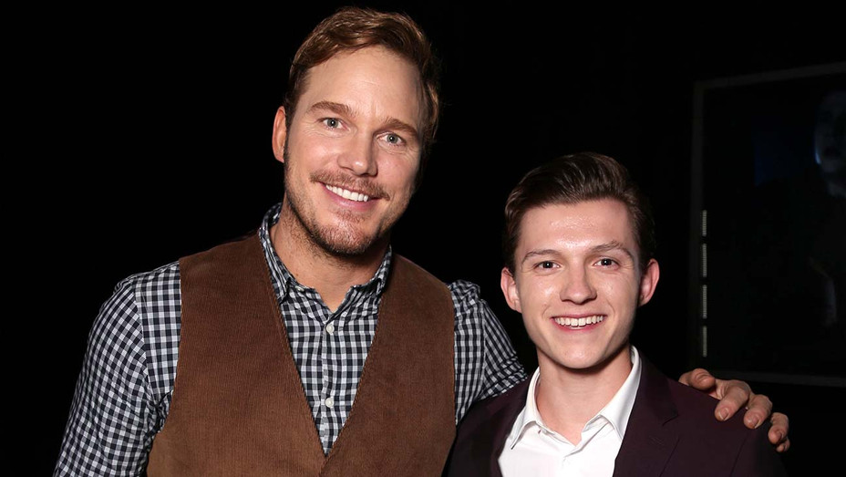Chris Pratt (L) and Tom Holland - Getty - H 2020