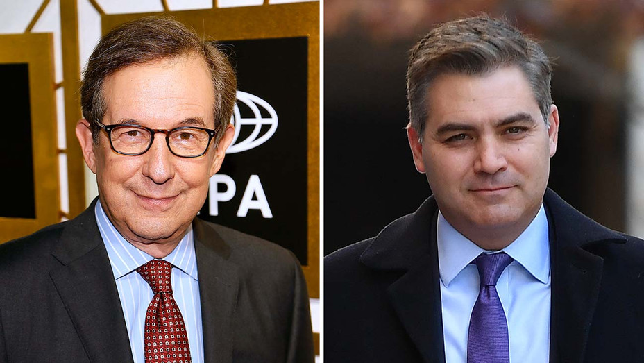 chris wallace and jim acosta_Split - Getty - H 2020