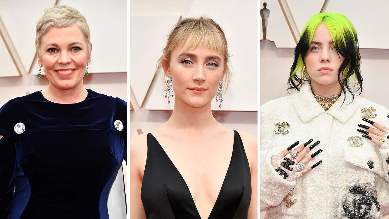 The 7 Best Beauty Looks At The Oscars From Billie Eilish To Scarlett Johansson Hollywood Reporter
