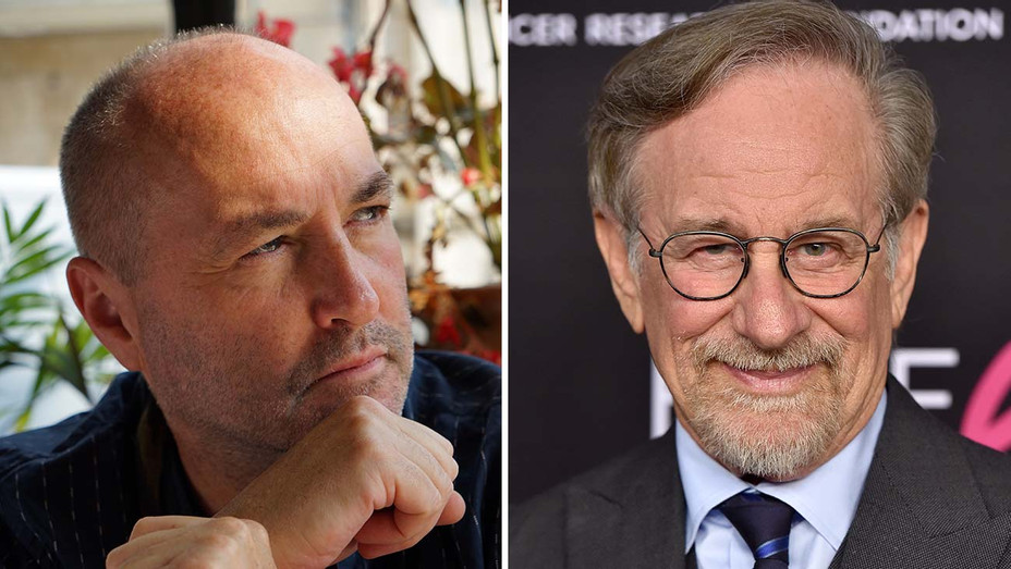 Colum McCann_Steven Spielberg_Split - Getty - H 2020