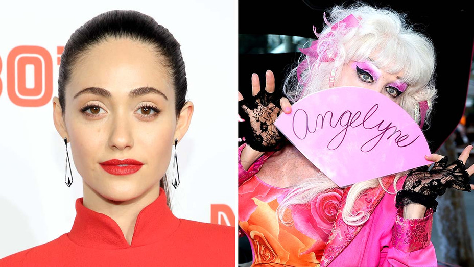 Emmy Rossum- Angelyne - Getty - SPlit - H 2020