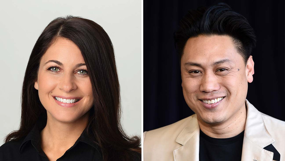 Erica Messer_Jon M. Chu_Split - Getty - H 2020