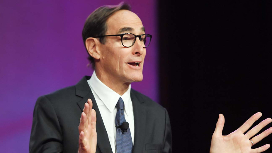 Josh Sapan speaks onstage during the 35th Anniversary Walter Kaitz Foundation dinner - Getty -H 2020