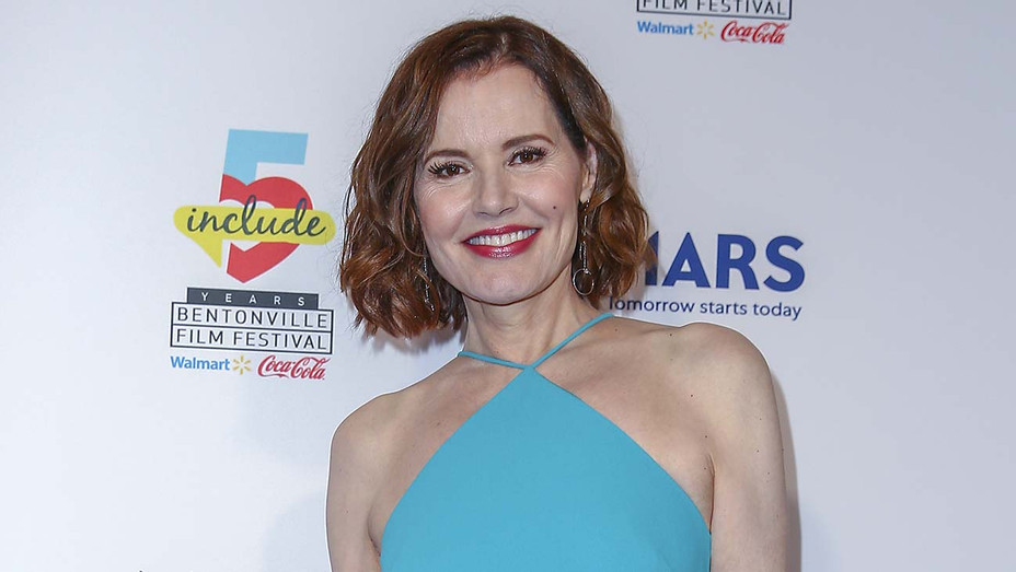 Geena Davis Bentonville Film Festival Backdrop 2019 - Getty - H 2020