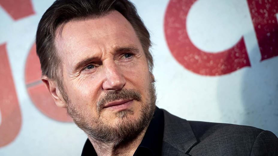 """Liam Neeson attends """"Venganza Bajo Cero"""" Madrid Premiere on July 15, 2019 - Getty-H 2020"""