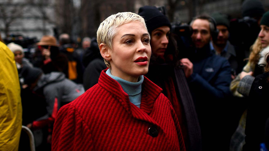 Rose McGowan -arrived at State Supreme Court in Manhattan January 6, 2020- Getty-H 2020