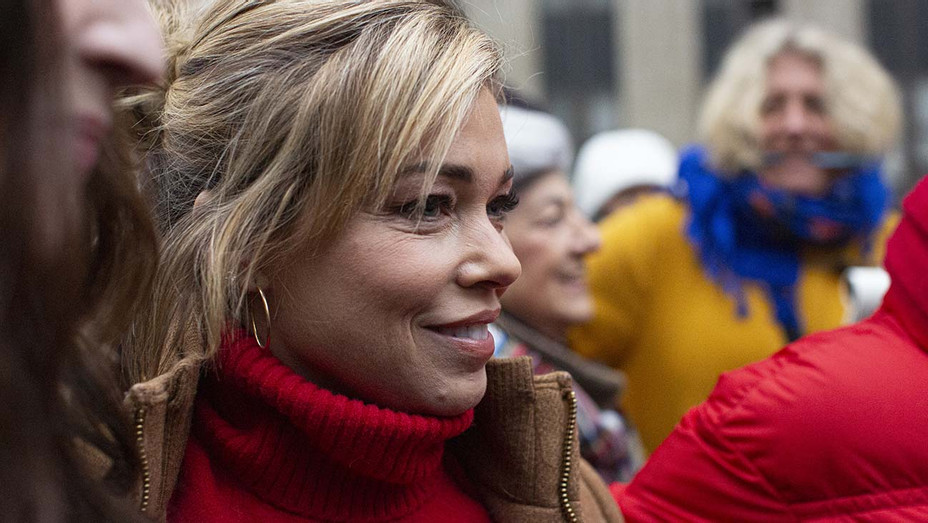 Lauren Sivan - press conference outside the court on January 6, 2020- Getty-H 2020
