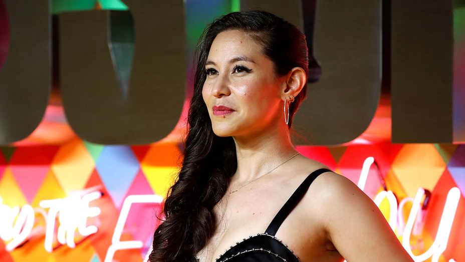 Christina Hodson poses on the red carpet upon arrival for the World Premiere of the film 'Birds of Prey' - Getty -H 2020