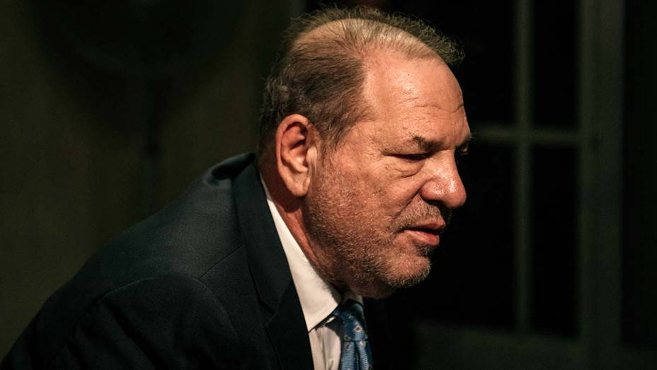 Harvey Weinstein enters New York City Criminal Court on February 24, 2020 - Getty 2-H 2020