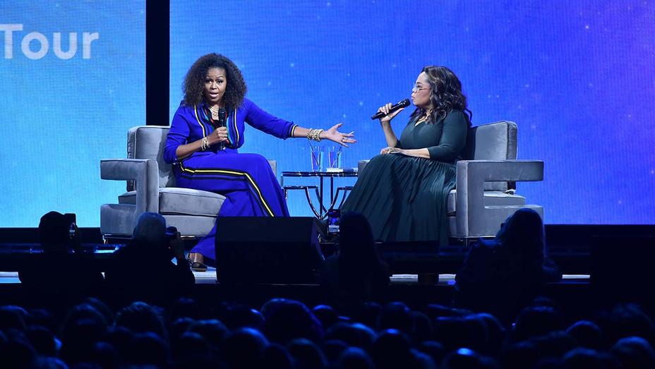 Michelle Obama Oprah Winfrey Your Life in Focus Tour - Getty - H 2020