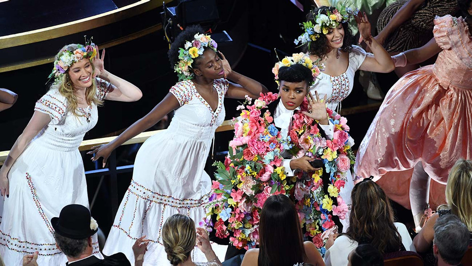 Janelle Monae Academy Awards Call and Response - Getty - H 2020