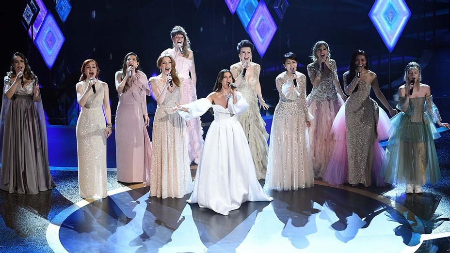 Idina Menzel performs fellow singers Academy Awards - Getty - H 2020
