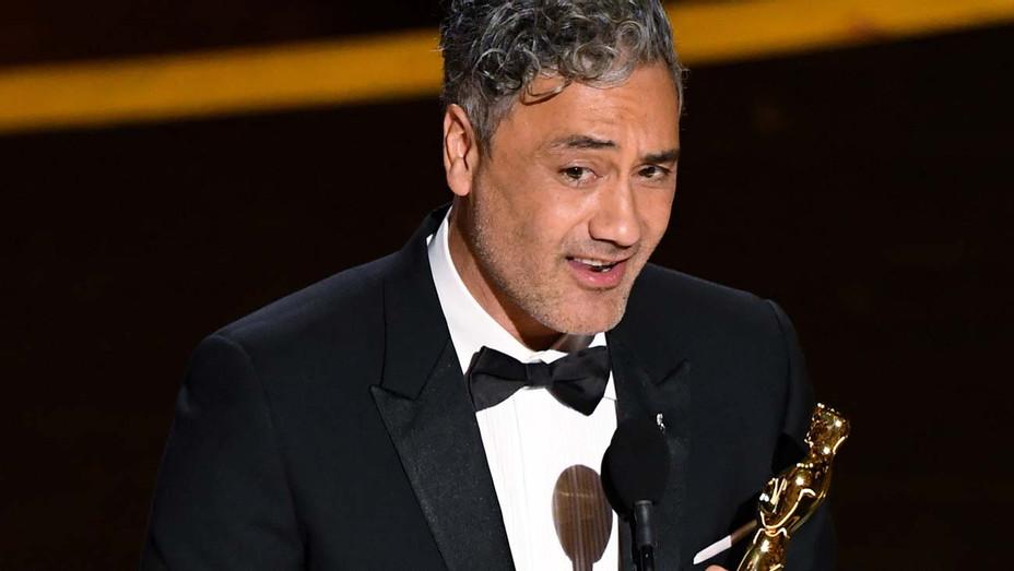 Taika Waititi Accepts Academy Award - Getty - H 2020