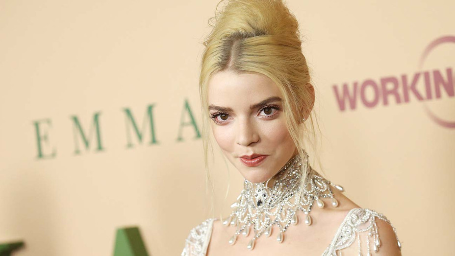 Anya Taylor-Joy attends the Los Angeles premiere of Focus Features EMMA - Getty-H 2020