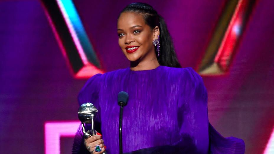 Rihanna at the NAACP Image Awards - H Getty 2020