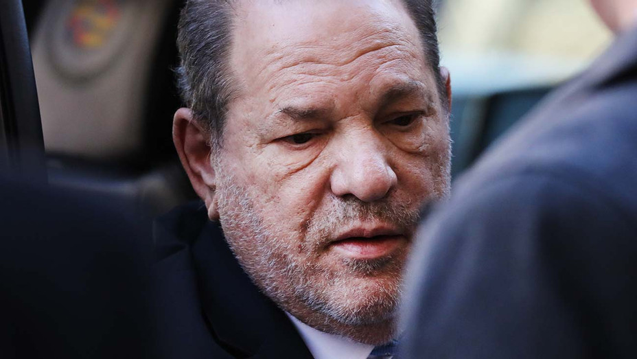 Harvey Weinstein enters New York City Criminal Court on February 24, 2020 - Getty 3-H 2020