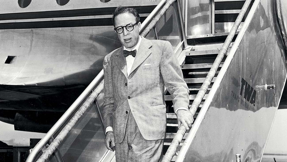 ONE TIME USE ONLY  - Screenwriter Dalton Trumbo (1905 - 1976) -Hulton Archive Getty Images -H 2020