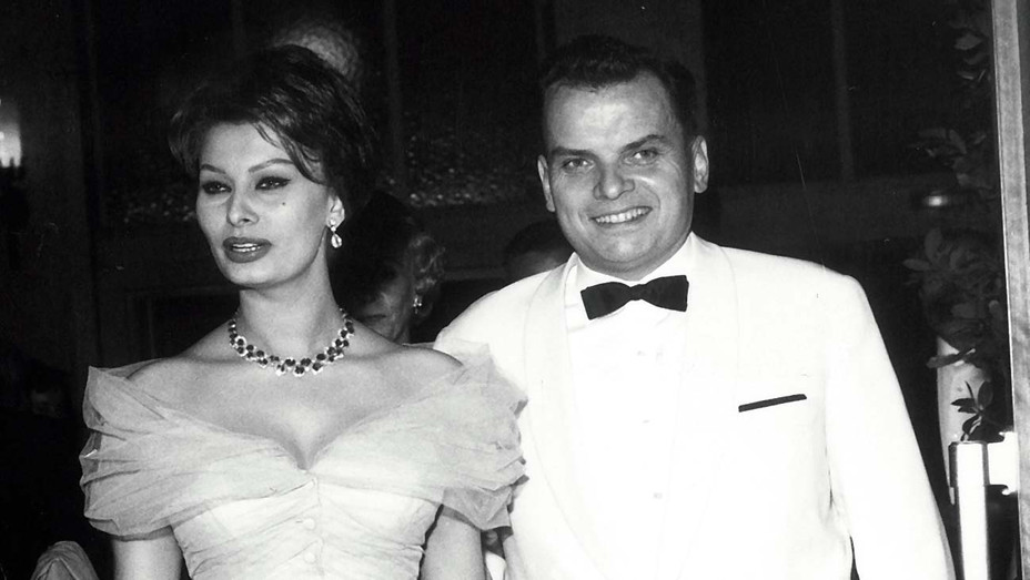 ONE TIME USE ONLY - Alfred Bauer and Sophia Loren - Getty -H 2020