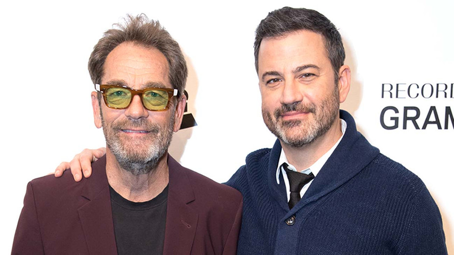 Huey Lewis and Jimmy Kimmel - Getty - H 2020