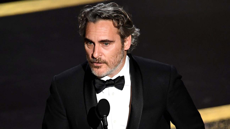 Joaquin Phoenix accepts the Actor In A Leading Role award for 'Joker' onstage during the 92nd Annual Academy Awards  -2-  Getty - H 2020